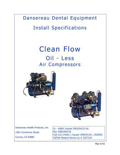 Air Compressors - Dansereau Dental Equipment - PDF Catalogs