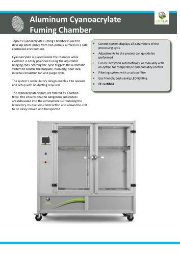 Aluminum Cyanoacrylate Fuming Chamber