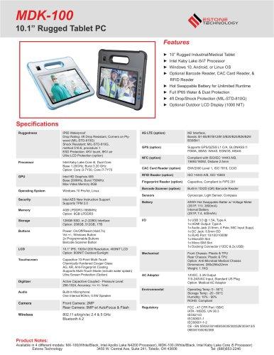 MDK-100 Datasheet