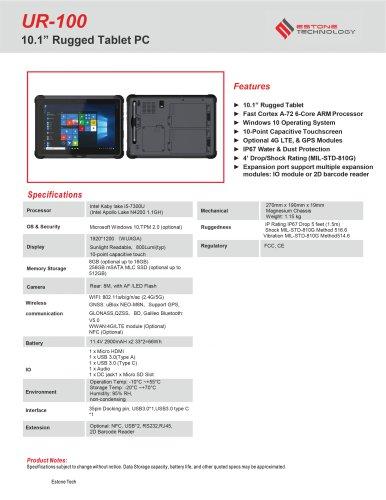 UR-100 Datasheet