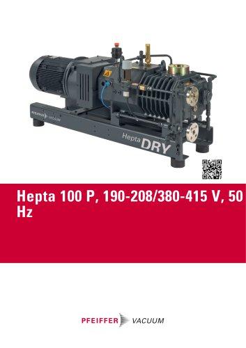 Hepta 100 P, 190-208/380-415 V, 50 Hz