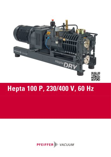 Hepta 100 P, 230/400 V, 60 Hz