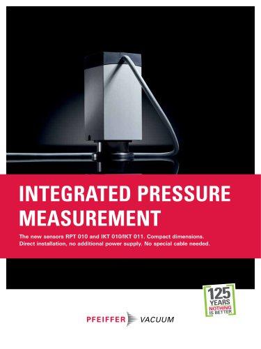 Integrated pressure measurement - RPT/IKT