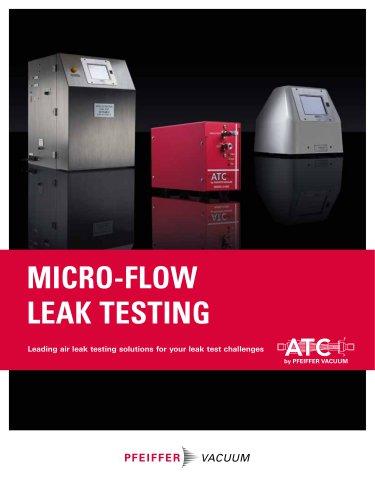 MICRO-FLOW LEAK TESTING
