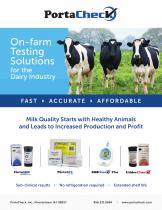 On-farm testing solutions