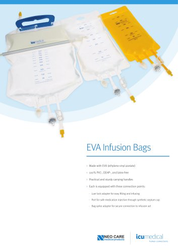 EVA Infusion Bags
