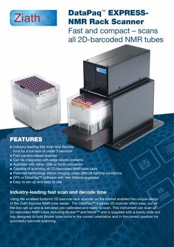 Datapaq Express-NMR Tube rack reader