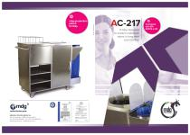 AC-217 Trolley designed for long-term care facilities