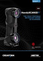 HandySCAN 3D: 3D Scanner for quality control & product development