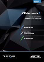 VXelements: Fully integrated 3D Software Plattform