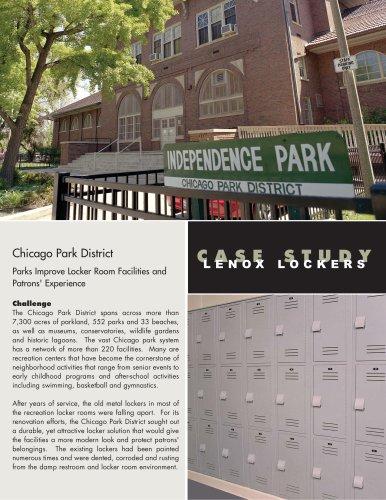 Plastic Lockers - Chicago Park District - Chicago, IL