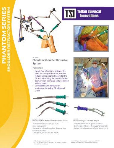 Phantom HS™ Shoulder Retractor Set