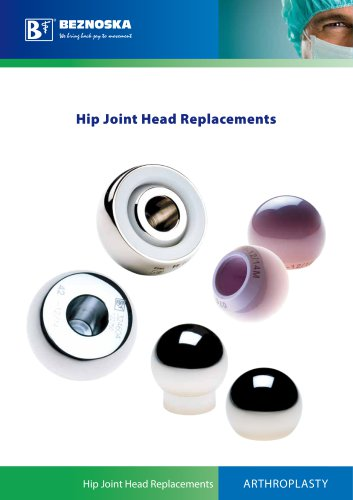 Hip Joint Head Replacements