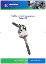 Total Knee Joint Replacement Type CMS - 1