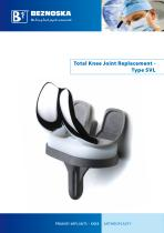 Total Knee Joint Replacement - Type SVL