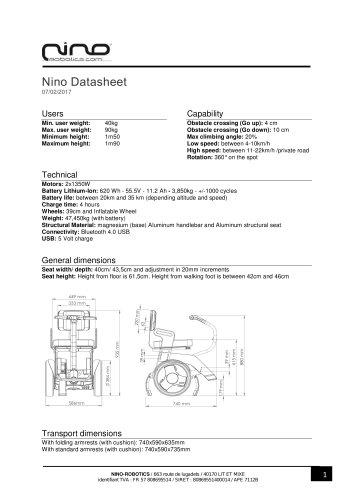 Nino Datasheet