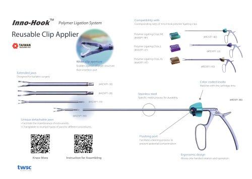 A3 - 2021 twsc Inno-Hook Polymer Ligation System