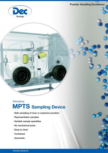 MPTS Sampling Device