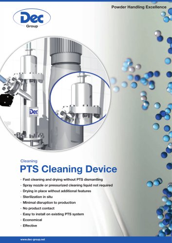 PTS Cleaning Device