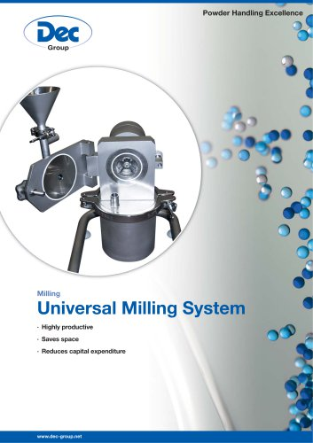 Universal Milling System