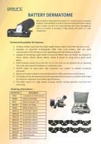 Skin Graft Mesher & Electric Dermatome - 3