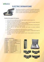 Skin Graft Mesher & Electric Dermatome - 4