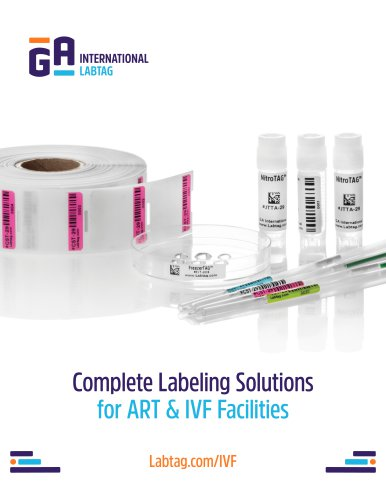 Labels for ART & IVF facilities