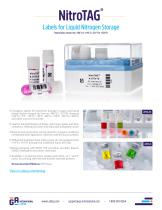 NitroTAG™ Labels for Liquid Nitrogen Storage