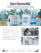 Steri-ThermoTAG™ Autoclave Resistant Labels