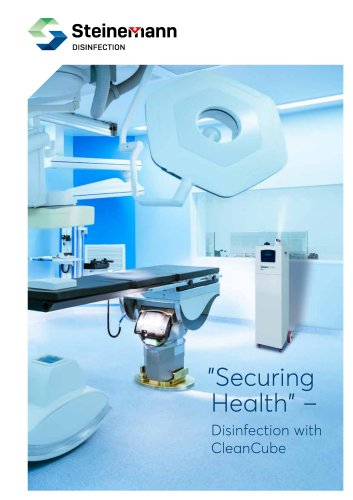 """""""Securing Health"""" – Disinfection with CleanCube"""