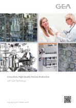 Innovative, High Quality Vaccine Production - Guide
