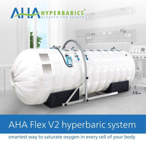 AHA Flex V2 medical hyperbaric systems