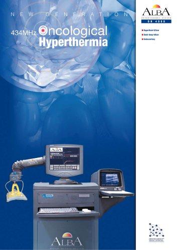 ALBA HYPERTHERMIA SYSTEM ON 4000