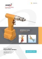 SharpX / Battery Operated Orthopedic/Trauma Surgical Motor