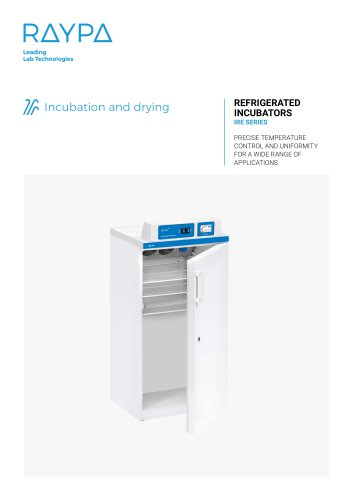 REFRIGERATED INCUBATOR - IRE SERIES