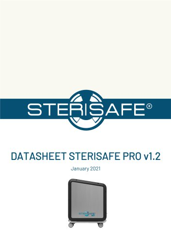 Datasheet Sterisafe PRO V1.1