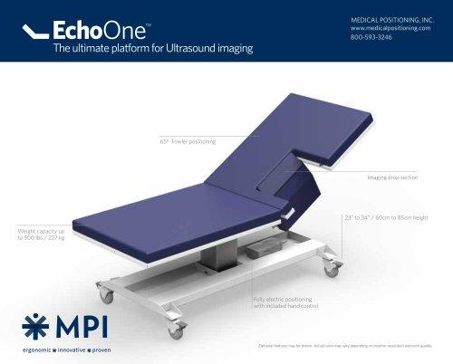 EchoOne® Specification Sheet