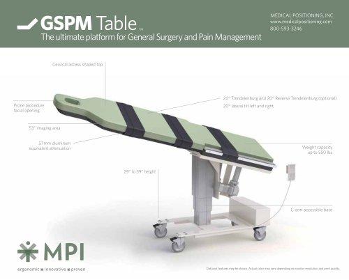 GSPM Table TM