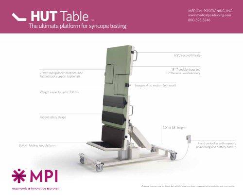 HUT Table TM