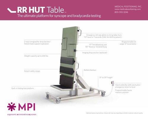 RR HUT™ Tilt Table
