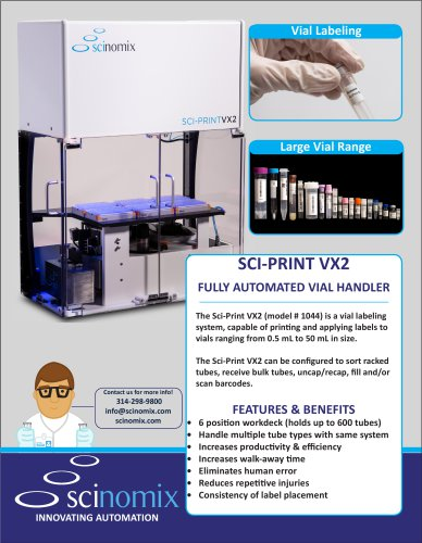 SCI-PRINT VX2