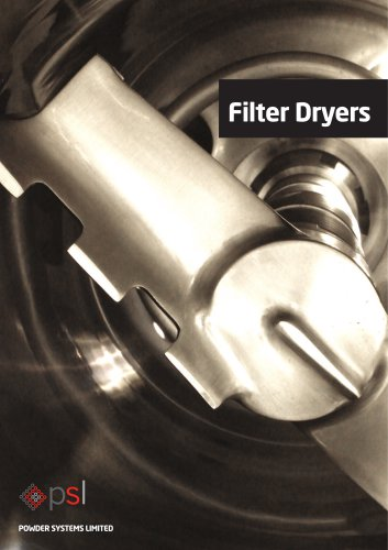 Filter Dryers
