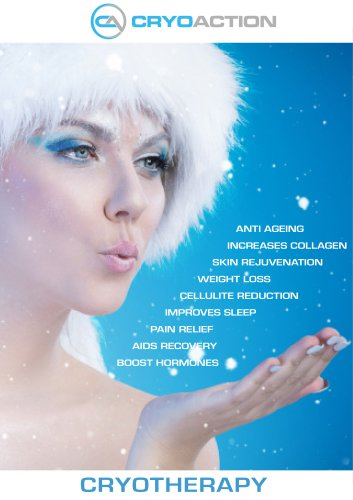 CryoAction Cryotherapy Chamber brochure
