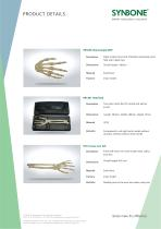 Lower Arm and Hand Models with inflexible Finger joints - 2