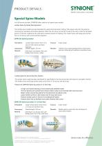 Spine Specialty Models - 1