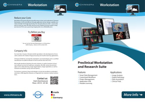 Preclinical Workstation
