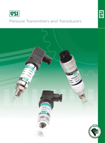 ESI Pressure Transmitters and Tranducers