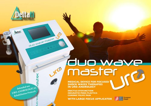 Uro-andrological shock waves DUO WAVE MASTER URO