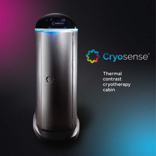 Cryosense cryotherapy chamber catalogue