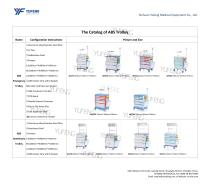 The Catalog of ABS Trolley-Yufeng Medical